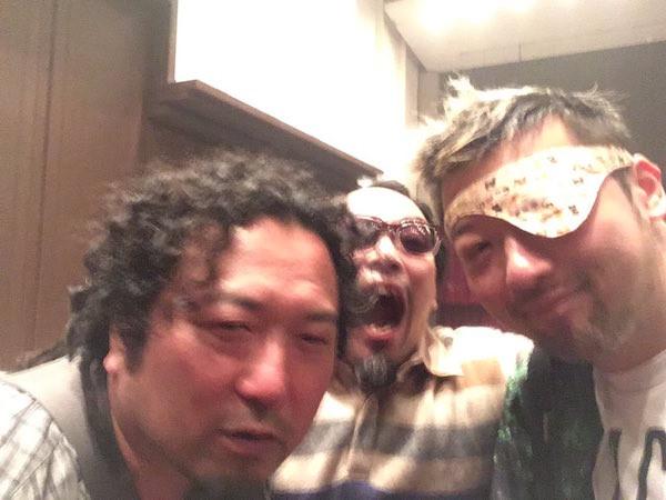 ロマン優光さんとダースレイダーさん。レイダーさんは、脳卒中仲間〜。ロマンさんも、脳卒中になれ〜⭐️.jpg