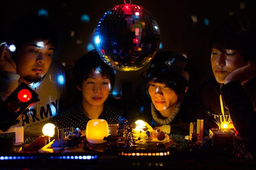 ウソツキ 2nd Mini Album『新木場発、銀河鉄道は行く。』リリース記念Ustream配信が決定!