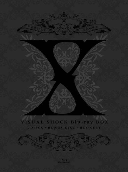 X JAPAN、X時代の映像商品をコンプリートした8枚組BOXをBlu-ray化した「VISUAL  SHOCK  Blu-ray  BOX  1989-1992」が12月7日発売決定!!