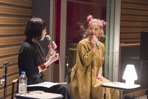 Chara ニューアルバム『Sympathy』発売記念で自身初のトーク&試聴会を都内のレコーディングスタジオで開催!!