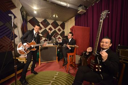 映画『ゴーストロード』9/30(土)渋谷 HUMAX シネマTHE NEATBEATS4 人が全員集合!いつだってアンプの電源と夢は<ON>にしておくのさ。