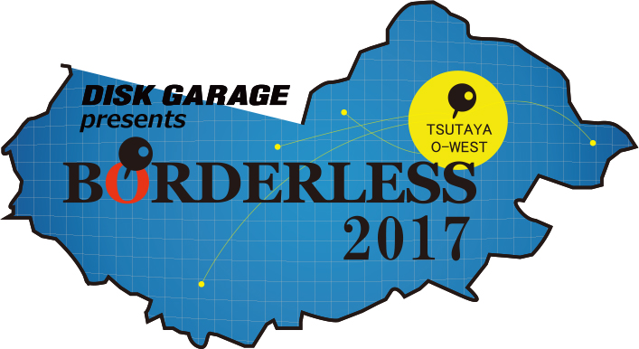 『DISK GARAGE presents BORDERLESS 2017』へSaucy Dog、FINLANDS の出演が決定!!