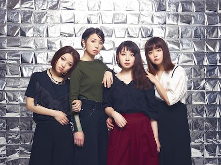個性派女流バンド''指先ノハク'' 3月リリースのアルバム詳細、ジャケット及び最新アー写公開!