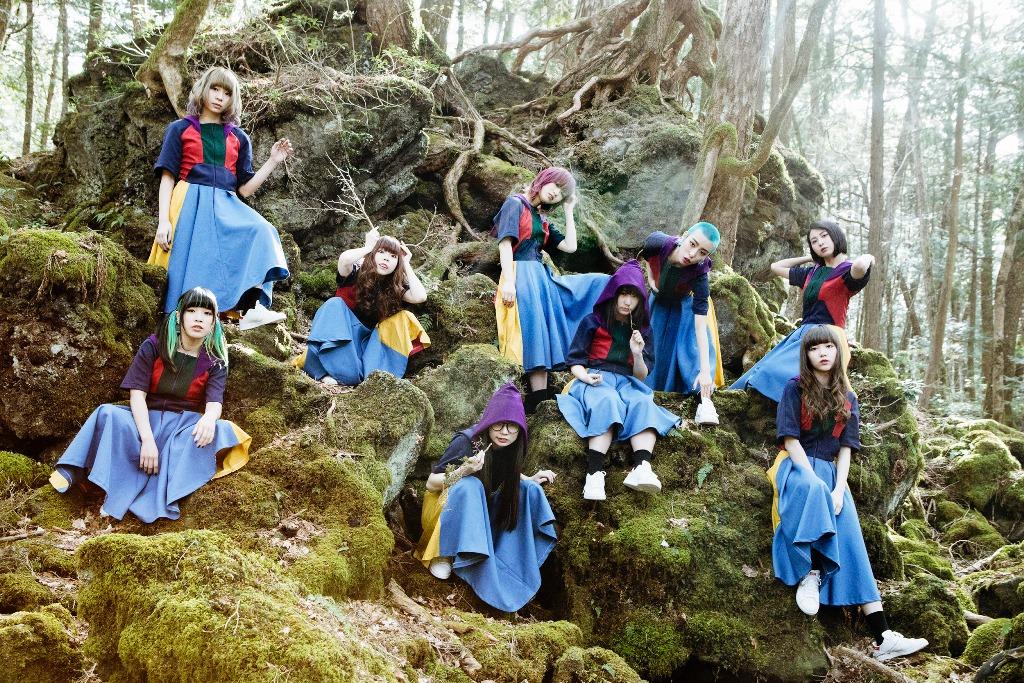 GANG PARADE、5/29発売シングル『GANG 2』のジャケット写真が公開!VILLAGE VANGUARDコラボポスター施策も決定。