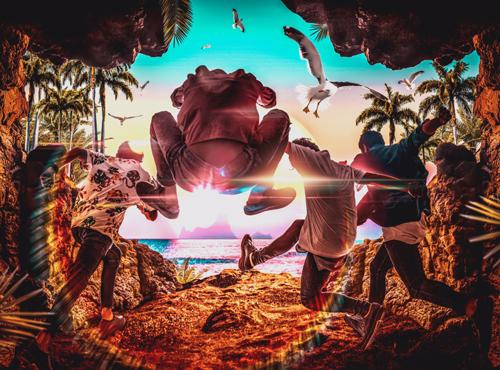 カントリー&サーフポップバンドSunrise In My Attache Case、 ミニアルバム『Light The Fire』7月4日(水)に発売決定!