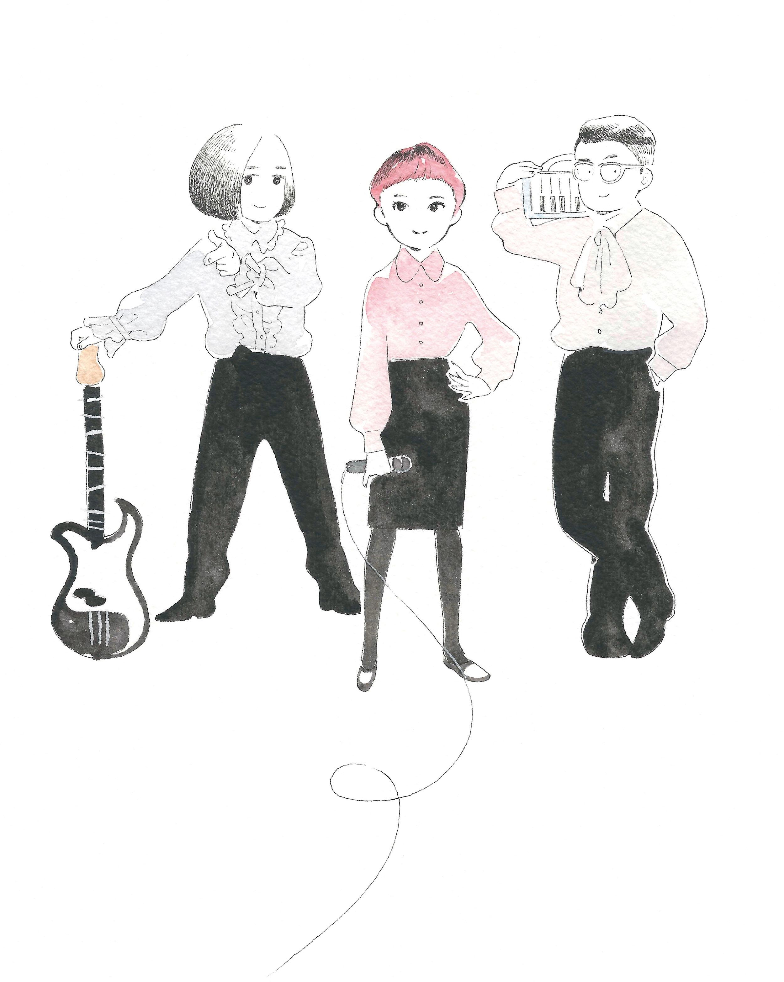 空気公団『僕の心に街ができて』ライブツアー2018 ツアー全17会場解禁!!