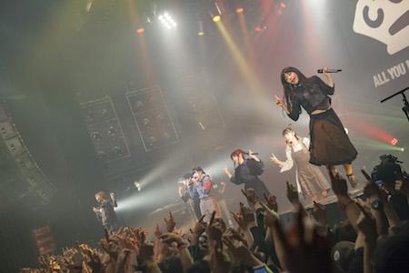 【ライブレポート】BiSH年内東京ラスト公演「BiSH FREE LIVE