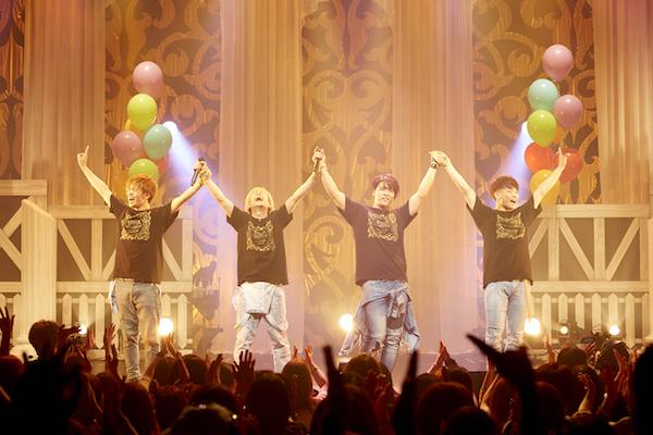 【イベントレポート】WEBER全国ツアーフィナーレにて新曲披露!そして映画主題歌に決定!