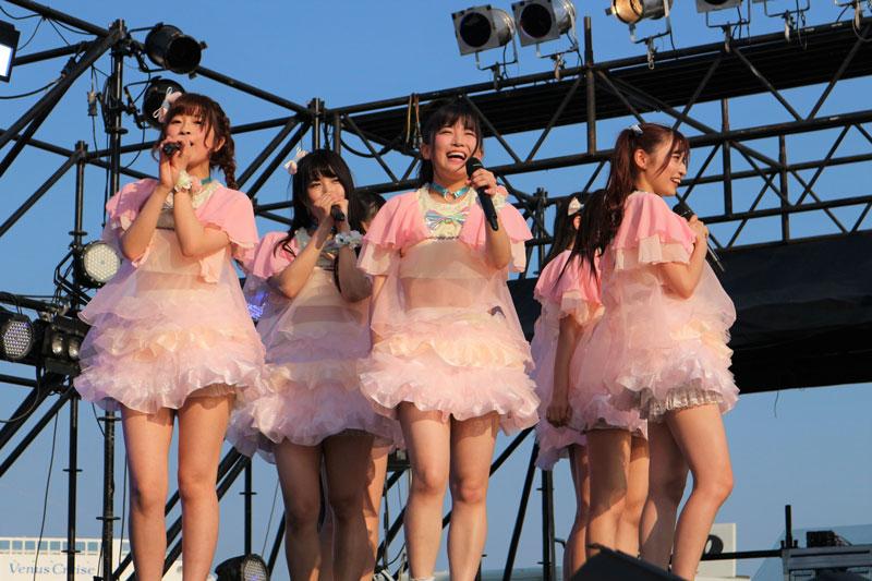 【ライブレポート】Ange☆Reve アイドル横丁に新衣装で登場!