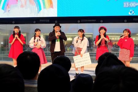 【イベントレポート】たこやきレインボーの春ツアー「CLUB RAINBOW」にDJとしてCMJKの参戦が決定!