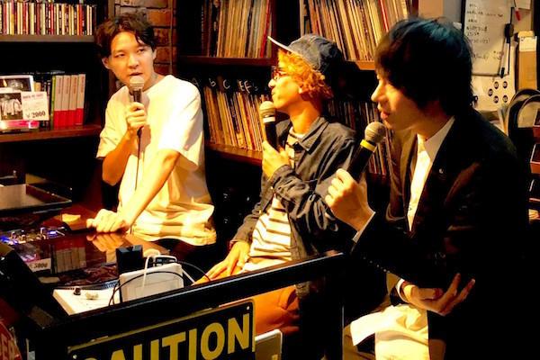【イベントレポート】POISON GIRL BAND吉田・LLR福田・ボンざわーるどによる『吉田ラジオ』@RockCafeLoft! 芸人を始めたきっかけの曲や思い出の曲を流しながら振り返った人生とは?!